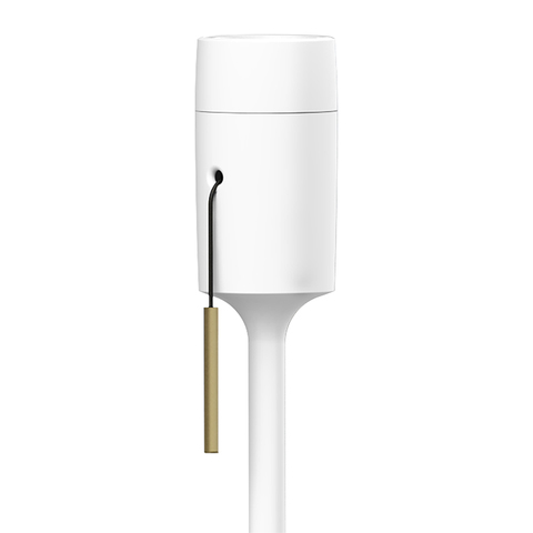 Торшер Champagne white (Д- 38, В-140 cm) 1,5 m. PVC провод с вилкой VITA copenhagen  4035