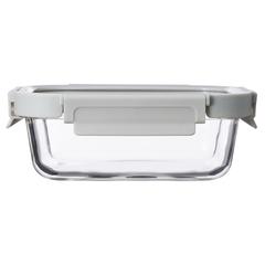 Контейнер для еды Smart Solutions стеклянный 1050 мл светло-бежевый ID1050RC_7534C