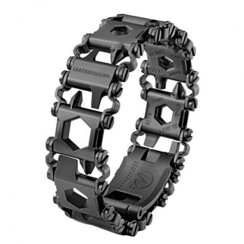Браслет Leatherman Tread Black LT (узкий) (подарочная упаковка)* MV-832432