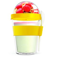 Контейнер Asobu Yo2go improved (0,36 литра) желтый YO2GOS yellow