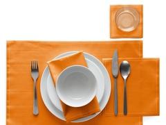 Салфетки в рулоне 20х20см (25шт) My Drap Orange SA21/902-1