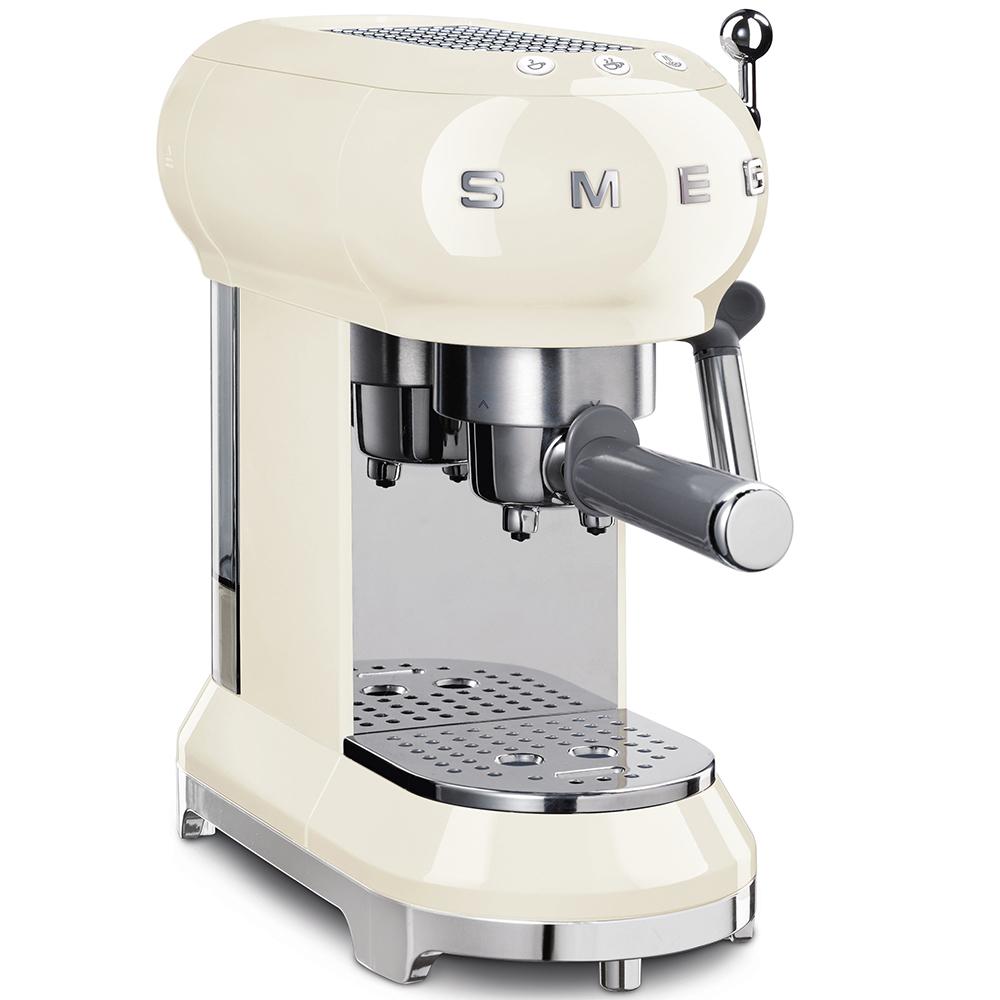 Кофемашина-эспрессо Smeg (Кремовый) ECF01CREU