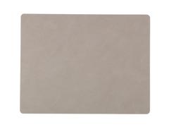 Подстановочная салфетка прямоугольная 35x45 см LindDNA Nupo light grey 981170