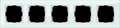 Рамка на 5 постов (натуральное стекло) WL01-Frame-05 Werkel