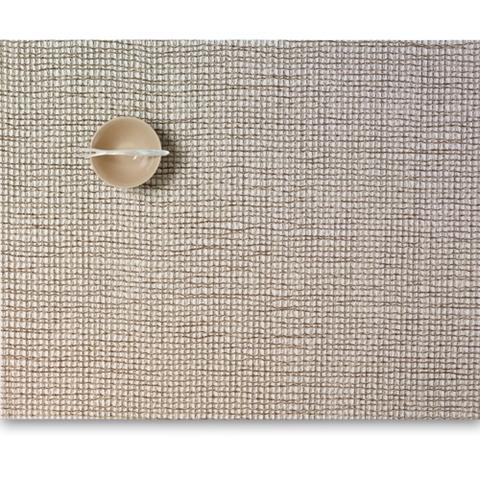 Салфетка подстановочная, жаккардовое плетение, винил, (36х48) Mica (100124-008) CHILEWICH Lattice арт. 0117-LATT-MICA