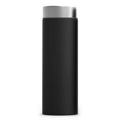Термос Asobu Le baton (0,5 литра) черный/стальной LB17 silver