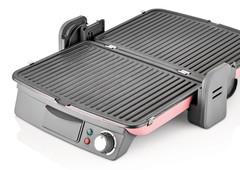 Электрогриль Sinbo, 2000 Вт, розовый SSM 2538