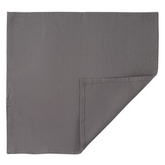 Салфетка сервировочная из хлопка серого цвета из коллекции Prairie, 45х45 см Tkano TK20-NA0003