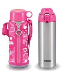 Термос Tiger MBP-A050 (0,5 литра) розовый MBP-A050 P