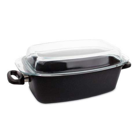 Утятница с крышкой 33х21 см (5,5 л) AMT Frying Pans арт. AMT 3321