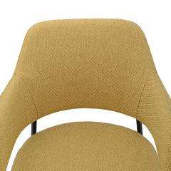 Кресло Berg Wendy, рогожка, горчичное UCH-WETRF012