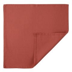 Салфетка сервировочная из хлопка терракотового цвета из коллекции Prairie, 45х45 см Tkano TK20-NA0001