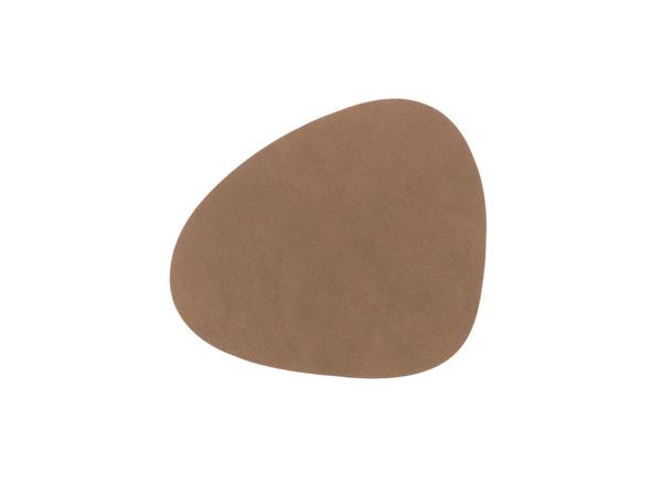Подстаканник фигурный 11x13 см LindDNA Nupo brown 981184