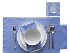 Салфетки в рулоне 20х20см (25шт) My Drap Sea Blue SA21/402-1