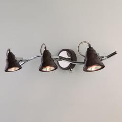 Настенный светильник с поворотными плафонами Eurosvet Magnum 20062/3 хром/венге