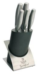 Набор из 5 ножей и подставки Taller Гилфорд TR-2004