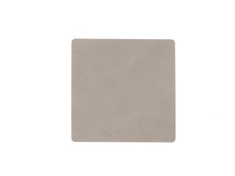 Подстаканник квадратный 10x10 см LindDNA Nupo light grey 981186