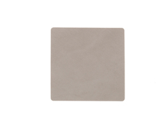 Подстаканник квадратный 10x10 см LindDNA Nupo light grey 981186