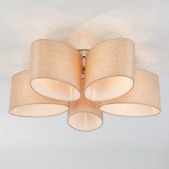Потолочная люстра с овальными абажурами Eurosvet Elipse 60083/5 хром