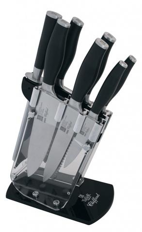 Набор из 6 ножей, мусата и подставки Taller Клиффорд TR-2006