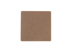 Подстаканник квадратный 10x10 см LindDNA Nupo brown 981188