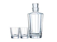 Набор из 2-х стаканов 320 мл и штоф Cristal d'Arques Macassar P4029