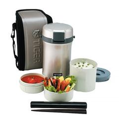 Многофункциональный термос для еды Tiger LWU-B170 (1,22 литра) серебристый LWU-B170 SE