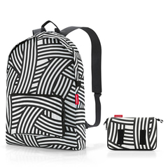 Рюкзак складной Mini maxi zebra Reisenthel AP1032