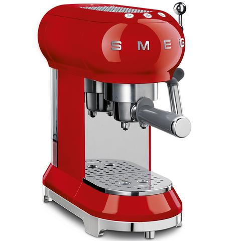 Кофемашина-эспрессо Smeg (Красный) ECF01RDEU