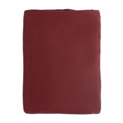 Плед вязаный из хлопка бордового цвета Tkano TK18-TH0010
