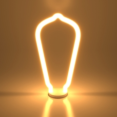 Декоративная контурная лампа Decor filament 4W 2700K E27 BL158 Elektrostandard