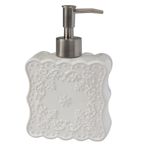 Дозатор для жидкого мыла Creative Bath Ruffles RUF59WH