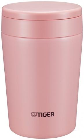 Термос для еды Tiger MCL-A038 Cream Pink (0,38 л), розовый
