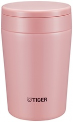 Термос для еды Tiger MCL-A038 Cream Pink (0,38 л), розовый MCL-A038 PC