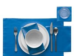 Салфетки в рулоне 32х32см (12шт) My Drap Royal Blue SA32/406-7