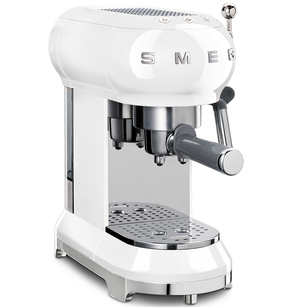 Кофемашина-эспрессо Smeg (Белый) ECF01WHEU