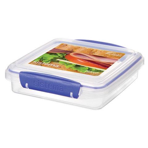 Контейнер для сэндвичей 450 мл Sistema KLIP IT™ Rectangular 1645