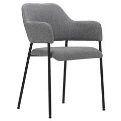 Кресло Berg Wendy, рогожка, серое UCH-WETRF082
