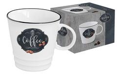 Кружка Кухня в стиле Ретро (кофе) в подарочной упаковке Easy Life AL-54633