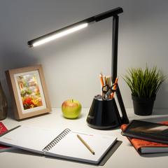 Светодиодная настольная лампа Eurosvet Office 80421/1 черный