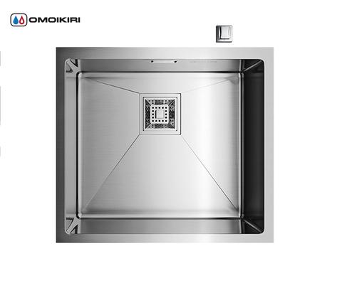Кухонная мойка из нержавеющей стали OMOIKIRI Taki-49-U (4993045)