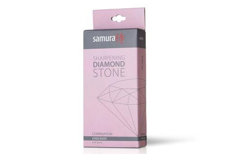 Камень точильный алмазный комбинированный #360/#600 Samura SDS-360/M