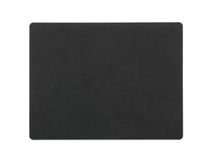 Подстановочная салфетка прямоугольная 35x45 см LindDNA Nupo black 981914