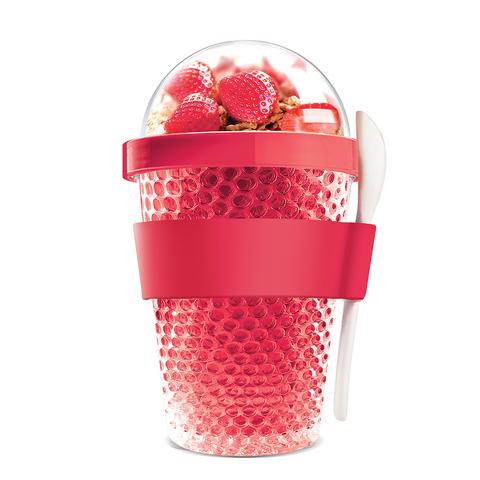 Контейнер Asobu Chill yo 2 go (0,38 литра) красный