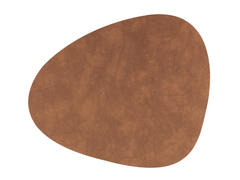 Подстановочная салфетка фигурная 37x44 см LindDNA Nupo nature 982473