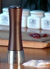 Мельница Peugeot Madras для соли, 16 см, шоколад матовый 25212