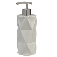 Дозатор для жидкого мыла Creative Bath Triangles TRI59NAT