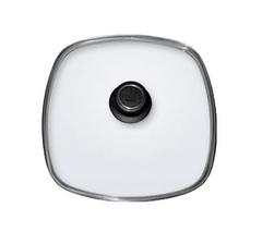 Крышка стеклянная квадратная 26х26см BAF с жаропрочной ручкой 800173262