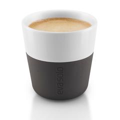 Чашки для эспрессо 2 шт 80 мл чёрные Eva Solo 501001