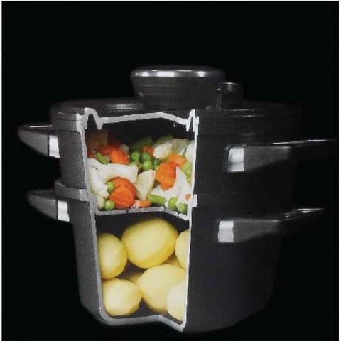 Пароварка 24 см AMT Frying Pans Titan арт. AMT I-1424-SET